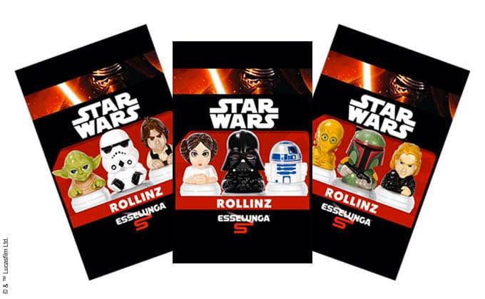 Bustine Rollins Esselunga Star Wars