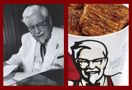 Nonnino Sanders e bucket KFC