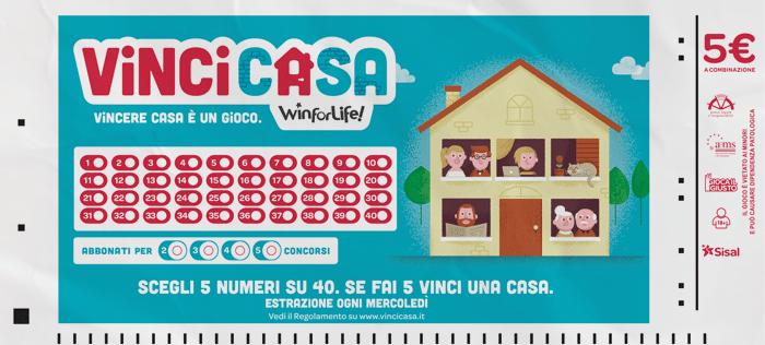 Sisal lancia vinci casa il gioco che regala un 39 abitazione for Come funziona un mutuo quando costruisci una casa