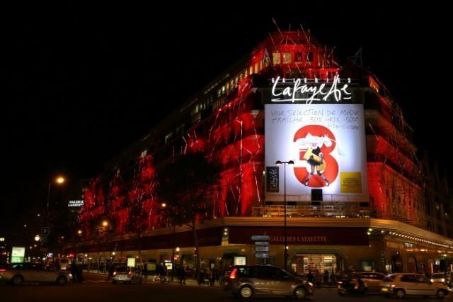Galeries Lafayette Haussmann Parigi