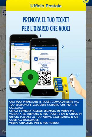Come funziona l'app Ufficio Postale
