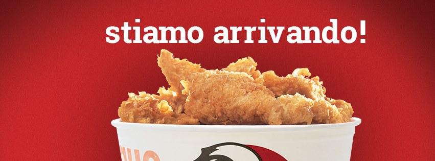 KFC Italia stiamo arrivando